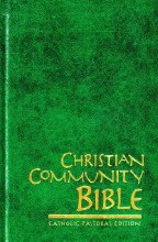 185223 Christian Community Bible, Large Edition