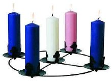 Advent Candles Pack of 6 (6 x 2)