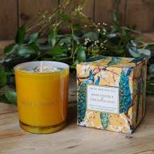 Honeysuckle and Pineapple Sage Scented candle