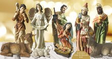Adeste Fideles Outdoor Nativity Set (60cm)