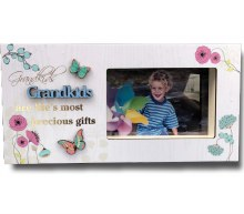 Grandkids Blooms Photo Frame