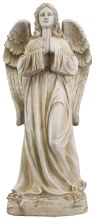 48577 Praying Angel Grave Statue 85cm