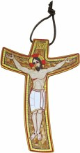Mosaic Misericorda Crucifix (23 x 33cm)