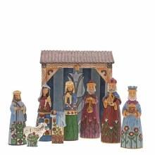 Folklore Nativity Scene 25cm