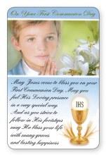 First Holy Communion Prayercard (Boy)
