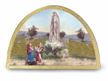 Apparition of Fatima Arch Plaque
