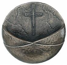 Christian Cross Holy Water Font - Genesis