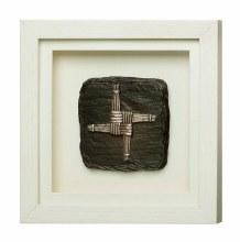 St Brigid's Cross Framed Plaque - Genesis