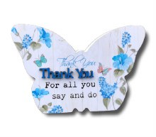 Thank You Blooms Butterfly