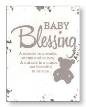 Baby Blessing Distressed