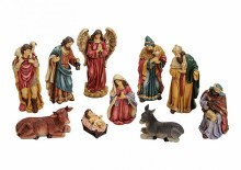 Christmas Nativity Set Figures