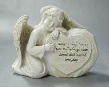 9556 Loved and Missed Memorial Angel 13 x 10 cm