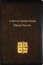 Shorter Roman Ritual, Large Print, Leather, Black,