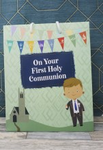 Boy First Holy Communion Gift Bag
