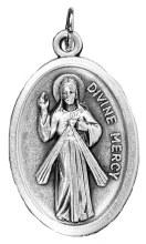 Divine Mercy Aluminium Medal