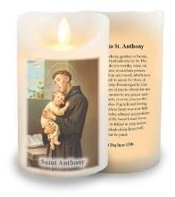 St Anthony LED Candle Wax Coating
