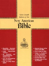 NAB Bible Red Imitation Leather