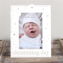 Baptism Day Cloud Photo Frame