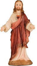 Sacred Heart Statue (14cm)