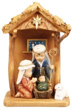 Childrens Nativity Scene 18cm