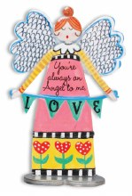 Always An Angel to Love Artmetal 13cm