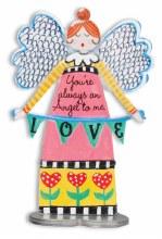 Always An Angel to Love Artmetal 13cm