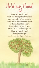 1146964 Hold My hand Prayercard