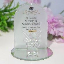TY169 Someone Special Angel plaque