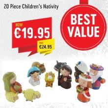 20 Piece Children's Nativity