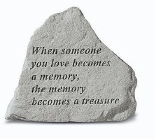 75620 Memorial Stone When Someone you love 13 x 11
