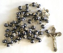 First Communion Rosary Beads
