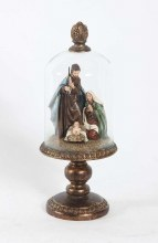 Holy Family in Dome (35cm)