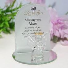 TY167 Mum Angel Plaque