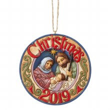 Heartwood Creek Holy Family Christmas Tree Ornament 2019