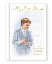 Remembrance of First Communion - boy