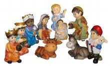 Follow The Star  Children's Nativity Set (10cm)