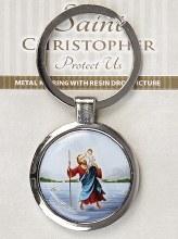 St Christopher Keyring