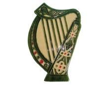 Irish Harp Emblem