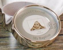 Silver Plated Little Angel Keepsake Box