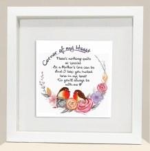 CH002 Mothers Love Corner of My Heart Robin Frame
