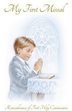 Boy Paper Back First Holy Communion Prayer Book