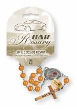 Single Decade Car Rosary