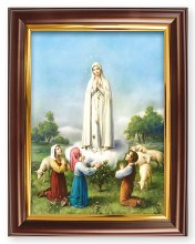 Fatima Wood Framed Picture (26 x 21cm)
