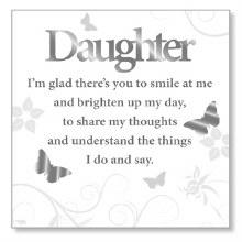 White Daughter Art Plaque