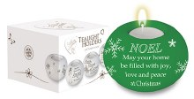 Green Noel Tealight Holder