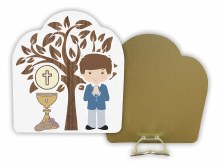 Boy First Holy Communion Plaque