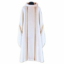 White and Gold Chasuble