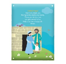 WMOF Family Prayer Metal Plaque
