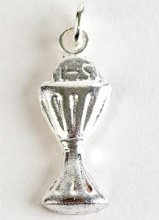 First Holy Communio Chalice Pin Sterling Silver