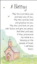 A Blessing Prayercard